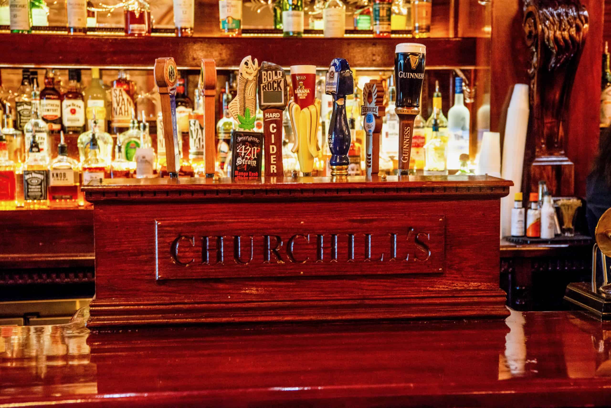 Churchill's.